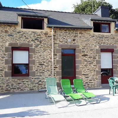 Fenêtres, porte d''entrée en PVC et volets roulants solaires - Bréhan, Morbihan