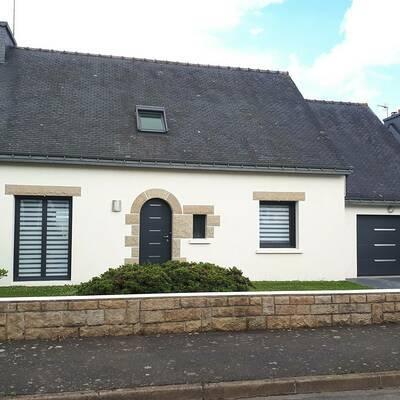 Fenêtres PVC, porte d''entrée et porte de garage - Loudéac, Côtes d''armor