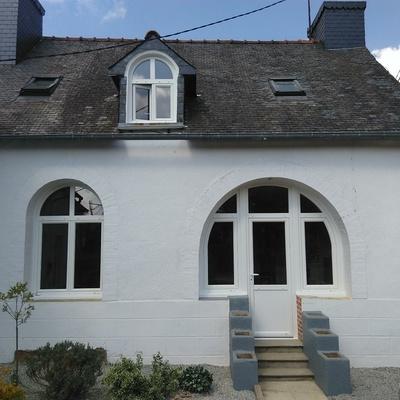 Installation de fenêtre en PVC - La Motte - Secteur Loudéac