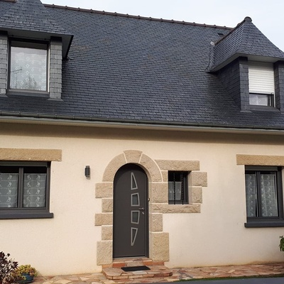 Porte et fenêtres en Aluminium - Loudéac