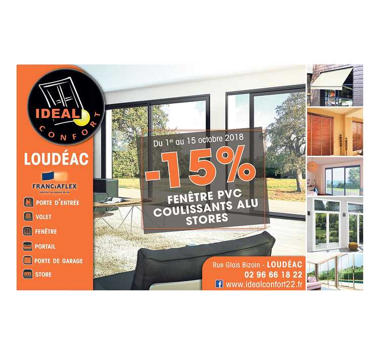 -15% sur fenêtres et volets roulants 0