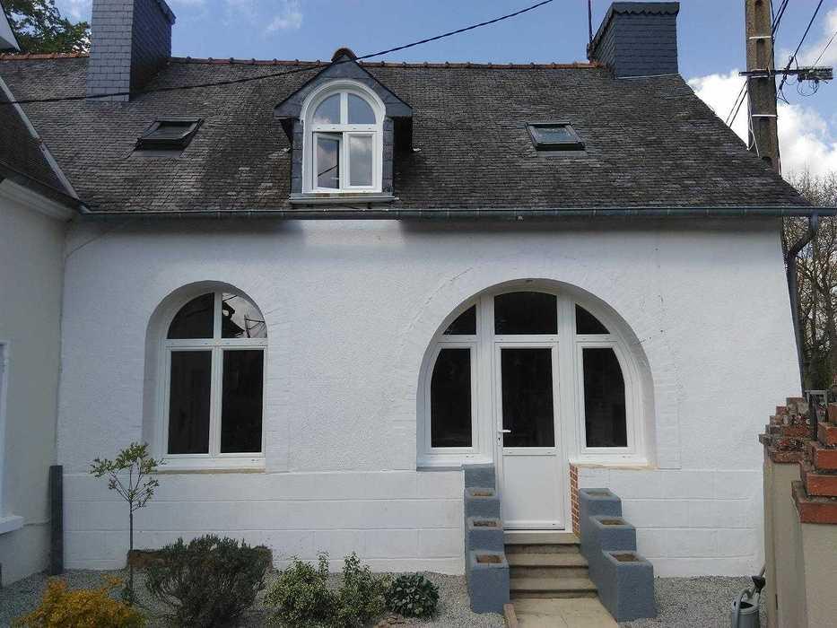 Installation de fenêtre en PVC - La Motte - Secteur Loudéac fenetrepvcaprestravaux