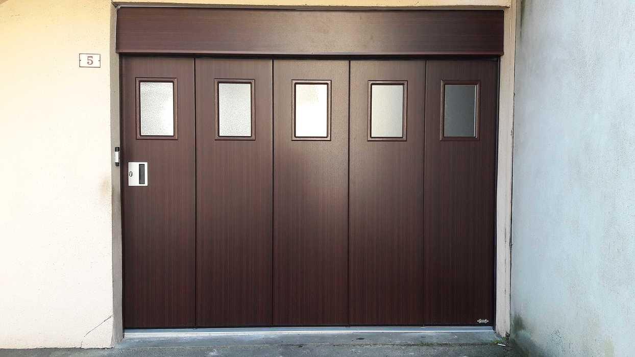 Installation d''une Porte de Garage latérale motorisée - La Chèze - Secteur Loudéac 20190222100604