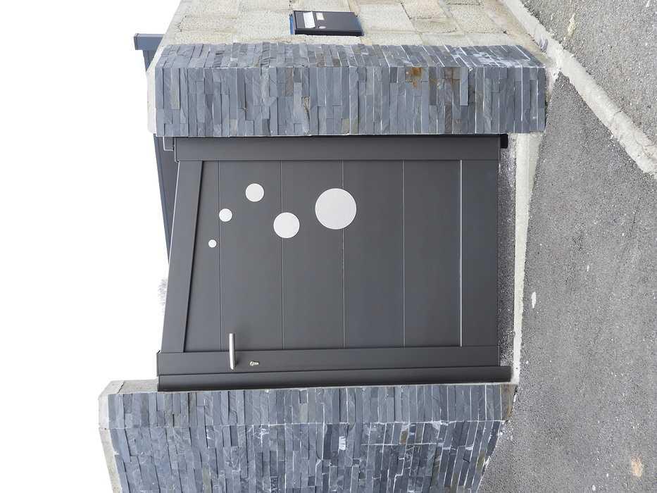 Installation portail et portillon en aluminium - Réguiny (56) 1773