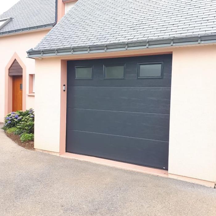 Installation porte garage - Noyal Pontivy 0
